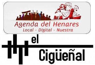 Logos de la Agenda del Henares y ElCigueñal