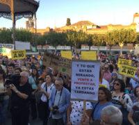 Concentración por el clima en Alcalá de Henares