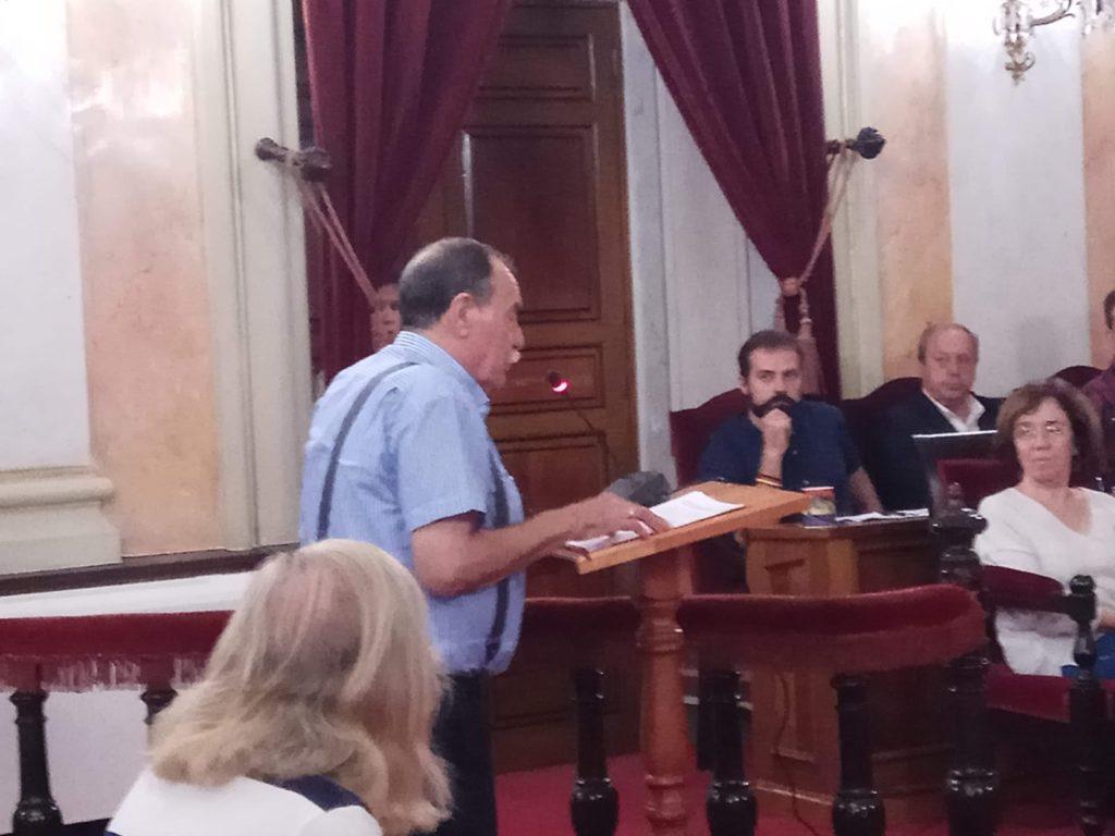 El vertedero en el Pleno Municipal de Alcalá